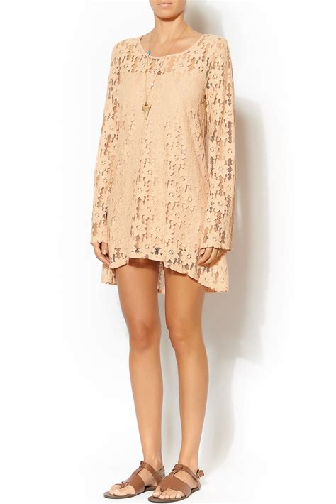 Piech Tunik pepper lace tunic from tennessee by redefined