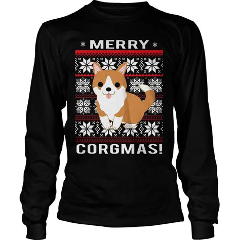 Merry Shirt merry corgmas shirt hoodie sweater longsleeve