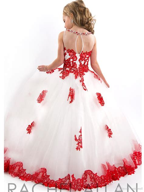 Flower Dresses 10 Year by New Arrival 2015 Outstanding Lace Beaded