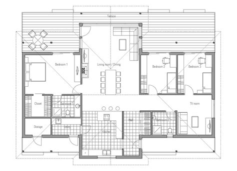 contemporary open floor plans modern house ch86 floor plan images house plan