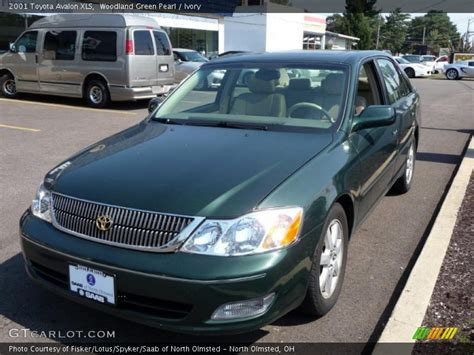 2001 Toyota Avalon Xls 2001 Toyota Avalon Xls In Woodland Green Pearl Photo No
