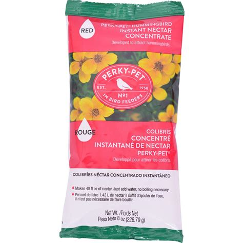 perky pet 8 oz hummingbird nectar 240sf the home depot
