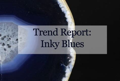 Oscar Trends To Inky Blue by Trend Report Inky Blue