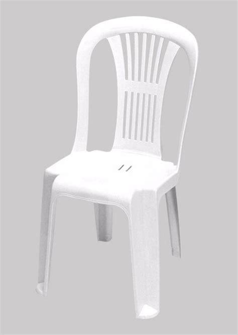silla de plastico sin apoya brazos blanca excelente calidad  en mercado libre