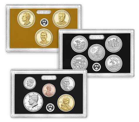 Set Mint silver proof set 2016 us mint