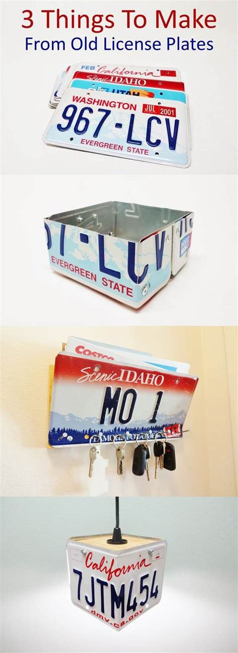 what to do with license plates when selling a car in illinois 3 things to make from old license plates simple mail