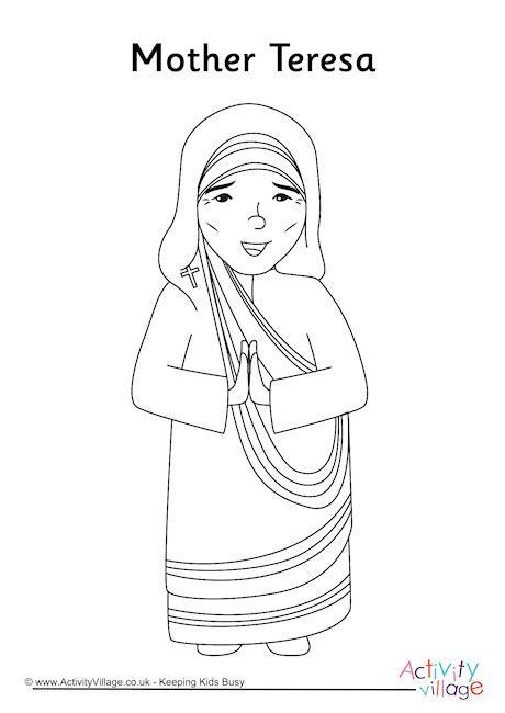 mother teresa saint teresa mother teresa activities 76 printable coloring pages mother teresa positive