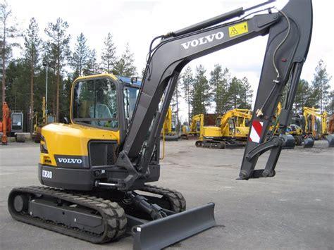 volvo ecr58d uusi mini excavators