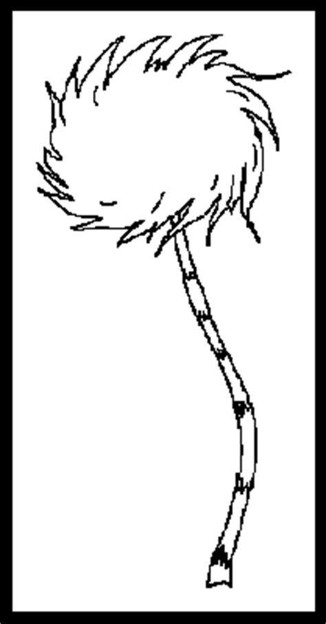 dr seuss lorax tree coloring pages sketch coloring page