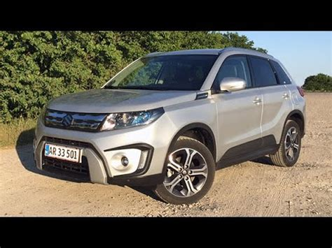 suzuki vitara 1 6 120 hk exclusive 2015 review