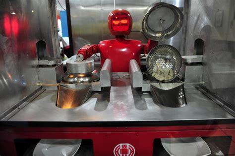 robots cuisine les robots cartonnent dans les restaurants chinois