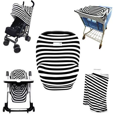 shopping cart seat cover canada stretchy stripes 5 in 1 baby car seat canopy stroller