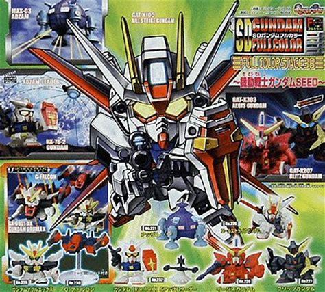 Gundam Sd Blitz Kingdom gashapon sd gundam part 38 seed adzam x aegis blitz