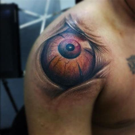 tattoo eye shoulder big eye tattoo on shoulder tattooshunt com