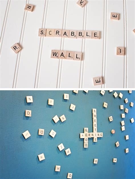 diy scrabble wall magnetic scrabble wall a subtle revelry