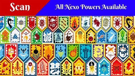 Auto Logo 3 Schildjes by Lego Nexo Powers Shields Scan сканирование щитов нексо сил