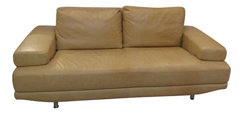 nicoletti italian leather sofa nicoletti italian leather sofa chairish