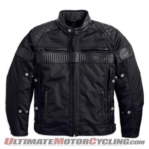 harley davidson triple vent system wp jacket released