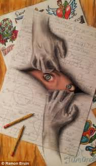How To Make Paper Look 3d - the pictures that draw you in amazing 3d sketches that
