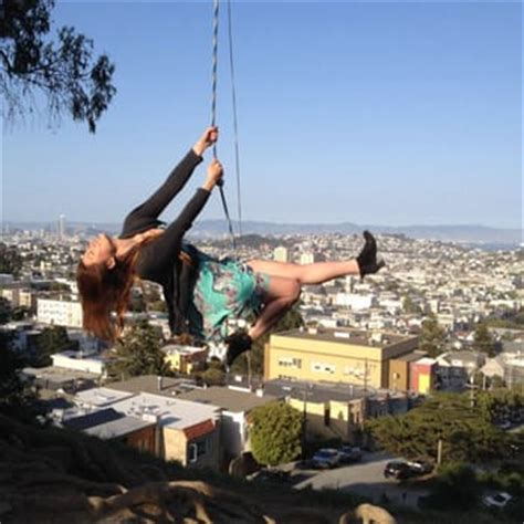 rope swing san francisco billy goat hill 249 photos parks glen park san