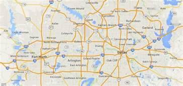 map dfw farah firm