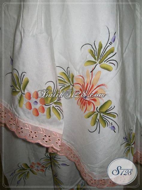 mukena bahan adem kain santung mukena dewasa batik