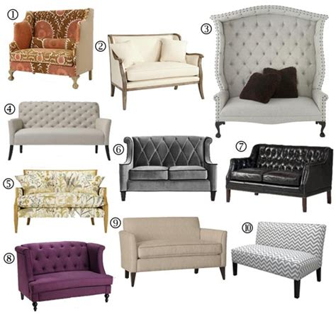 Settee Loveseat Furniture small space sofa alternatives 10 settees loveseats