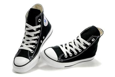 Project High Black black converse high tops chuck all