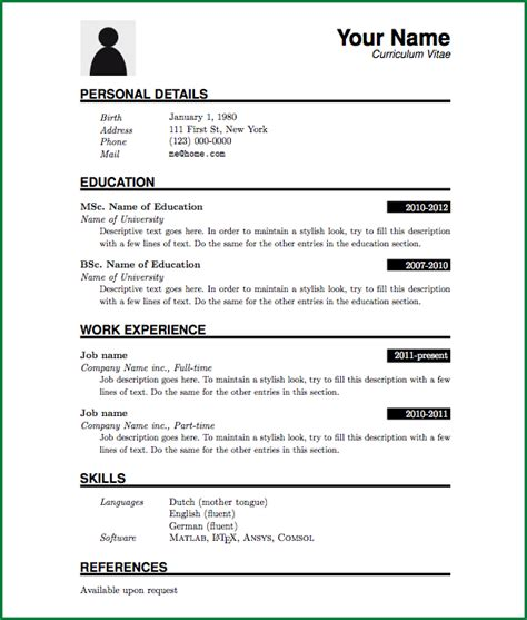 Resume Zip File Simple Resume Format For Freshers In Word File Plaincv Screen Png Thankyou Letter Org