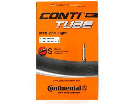 continental inner continental inner 27 5 x 1 75 2 5 light prestaref