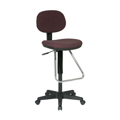 office chair with footrest office dc430 worksmart economical office chair with