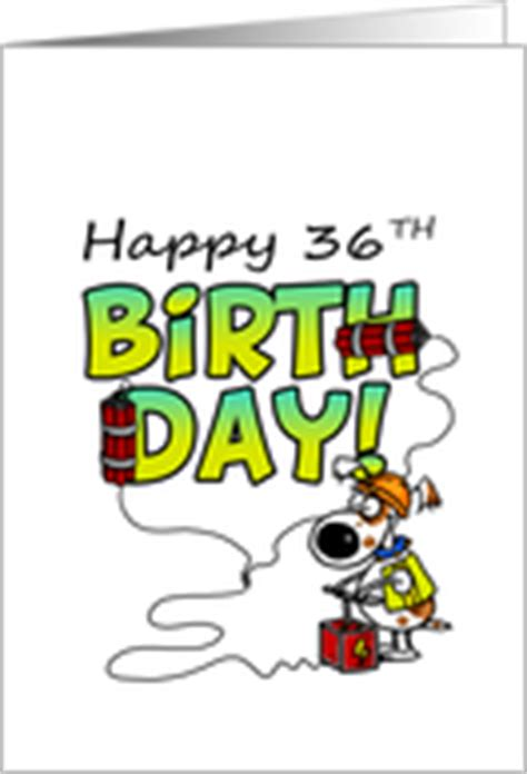 Happy 36th Birthday Quotes 36th Birthday Cards From Greeting Card Universe