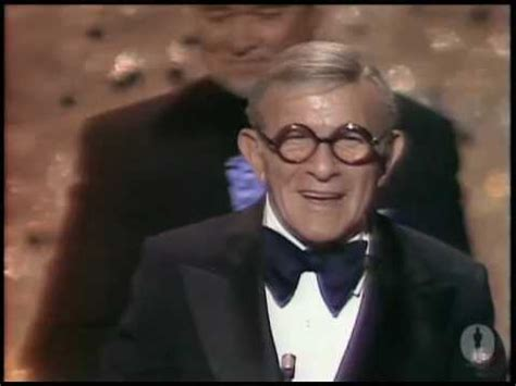 1976 best supporting actor george burns wins supporting actor 1976 oscars youtube