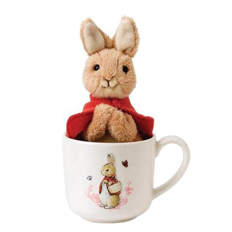 Rabbit And Butterfly Mug 1 my flopsy bunny expressions gifts homeware