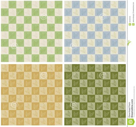 checkerboard pattern jpg checkerboard leaves seamless pattern stock vector