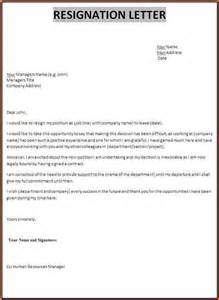 certificate of resignation sample resignation letter template jpg