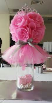 White Vase Filler Best 25 Princess Party Centerpieces Ideas On Pinterest