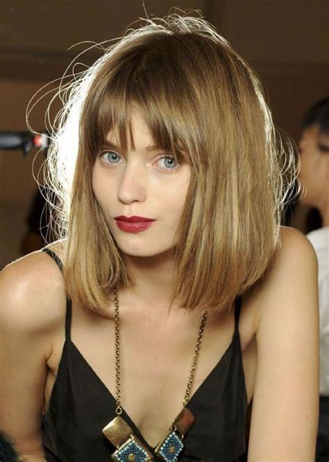 medi length hair cuts tagli capelli con frangia fotogallery donnaclick