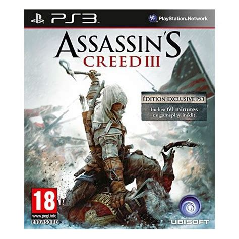 assassins creed pas cher achat vente priceminister assassin s creed iii bonus edition pas cher achat vente