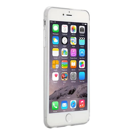 Bumpertempered Glass Fullset Silver Iphone 55s wholesale cover pc cover transparent clear back for 5 5 inch iphone 6 plus mkc