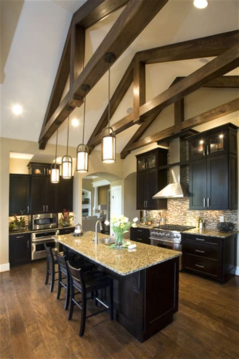 Lighting For Cathedral Ceiling In The Kitchen Kitchen Lighting Vaulted Ceiling Homearama Photo Gallery Homearama Builder