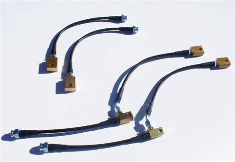 Teflon Akebono z1 370z g37 premium stainless steel brake lines z1 motorsports