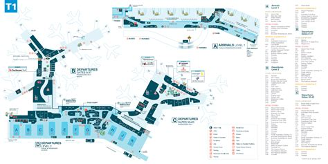 sydney airport floor plan sydney international airport international terminal