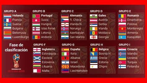 resultados mundial rusia 2018 mundial rusia 2018 resultados y posiciones de los grupos