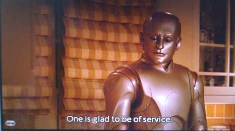 to be a service 役に立てれば幸いです by アンドリュー マーティン android ndr114 1999年の映画のお話ですが