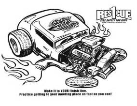 rod coloring pages rat rod cars coloring pages
