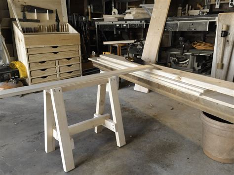 bench cut stackable sawbenches sawyer s bench brim studio