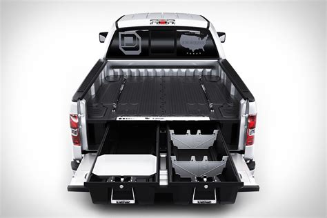 truck bed storage decked truck bed organizer uncrate