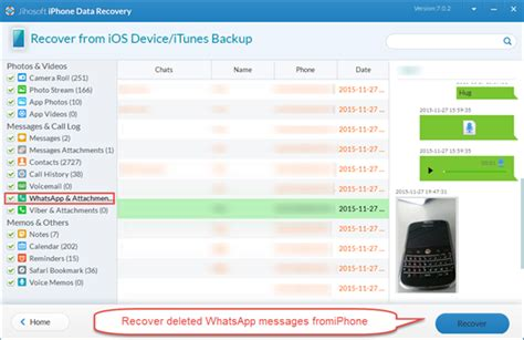iphone data recovery whatsapp recovery retrieve deleted whatsapp messages on iphone