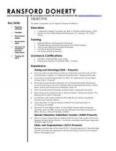 Curriculum Vitae Template Academic by Adjunct Professor Resume Sales Professor Lewesmr